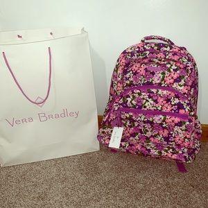 Vera Bradley Essential Large Backpack NWT